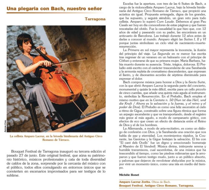 Revista Ritmo. Septiembre 2015